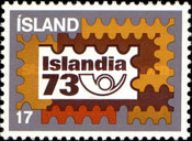 [Stamp Exhibition ISLANDIA 73, Typ IY]