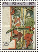 [The 1100th Anniversary of Settlement in Iceland, Typ JI]