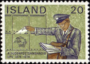 [The 100th Anniversary of the Universal Postal Union, Typ JP]