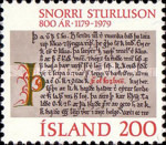 [The 800th Anniversary of the Birth of Snorre Sturlason, Typ LJ]