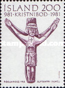 [The 1000th Anniversary of Christianity on Iceland, type MK]