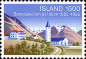 [The 100th Anniversary of the Agricultural College of Hólar, Typ MW]