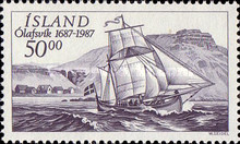 [The 300th Anniversary of the Olafsvik Trading Station, Typ PS]