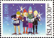 [Christmas Stamps, type SK]