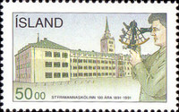 [The 100th Anniversary of the Navigation College in Reykjavik, type TC]