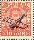 [Overprinted for use as Airmail, Typ W]