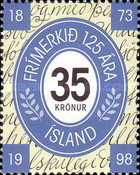 [The 125th Anniversary of Icelandic stamps, Typ XY]
