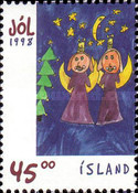 [Christmas stamps - Childrens Paintings, Typ YB]