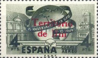 [Airmail - The 75th Annniversary of the Universal Postal Union, type L]