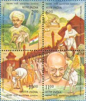 [The 50th Anniversary of the Death of Mahatma Gandhi, Typ ]