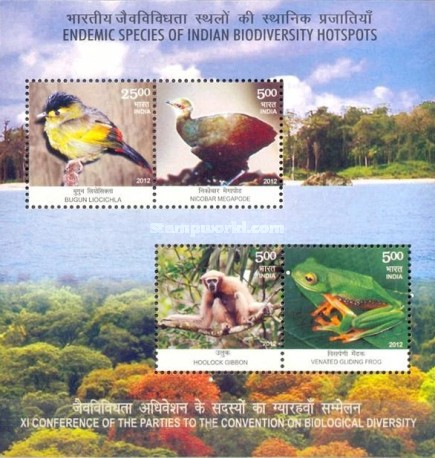 [Fauna - Endemic Species Of Indian Biodiversity Hotspots, Typ ]