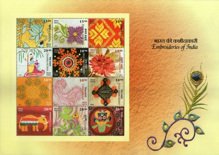 [Embroideries of India, Typ ]