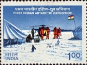 [The 1st Indian Antarctic Expedition, Typ ACF]