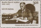 [The 100th Anniversary of the Birth of Franklin D. Roosevelt, American Statesman, Typ ACI]
