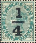 [Queen Victoria, 1819-1901 - No. 34 Surcharged, Typ AD]