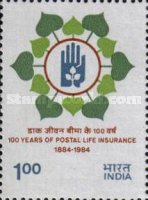 [The 100th Anniversary of Postal Life Insurance, Typ ADU]