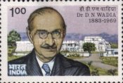 [The 100th Anniversary of the Birth of Doctor D. N. Wadia, Geologist, Typ AES]