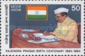 [The 100th Anniversary of the Birth of Doctor Rajendra Prasad, Former President, Typ AEW]