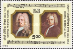 [The 300th Birth Anniversaries of George Frederick Handel and Johann Sebastian Bach (Composers), Typ AGH]