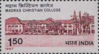 [The 150th Anniversary of Madras Christian College, Typ AID]
