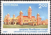 [The 100th Anniversary of Allahabad University, Typ AIT]