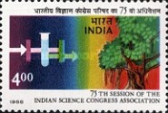 [The 75th Session of Indian Science Congress Association, Typ AJX]