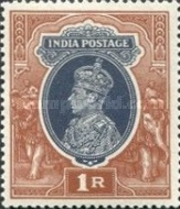 [King George VI, 1895-1952, type AP]