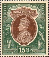 [King George VI, 1895-1952, type AP4]