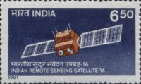 [Launch of Indian Remote Sensing Satellite IA, Typ APY]