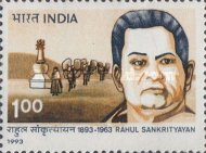 [The 100th Anniversary of the Birth of Rahul Sankrityayan, Politician, Typ ATK]