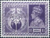 [King George VI, 1895-1952 - Victory Commemoration, Typ AU1]