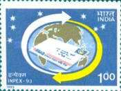 [Inpex '93 National Stamp Exhibition, Calcutta, Typ AUJ]