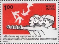 [The 75th Anniversary of Jallianwala Bagh Massacre, Amritsar, Typ AUY]