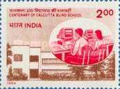 [The 100th Anniversary of Calcutta Blind School, Typ AVS]