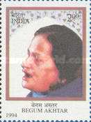 [The 80th Anniversary of the Birth of Begum Akhtar (Singer), Typ AVT]