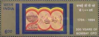 [The 200th Anniversary of Bombay General Post Office, Typ AVZ]