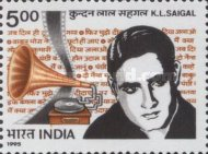 [The 90th Anniversary of the Birth of K. L. Saigal (Singer), Typ AWL]