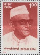 [The 100th Anniversary of the Birth of Morarji Desai - Former Prime Minister,, Typ AXV]