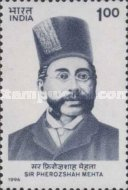 [The 150th Anniversary of the Birth of Sir Pherozeshah Mehta (Politician), Typ AYG]