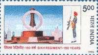 [The 150th Anniversary of Sikh Regiment, Typ AYP]