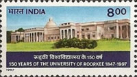 [The 150th Anniversary of Roorkee University, Typ AZA]