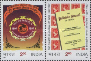 [The 100th Anniversary of the Philatelic Society of India, Typ AZP]