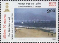 [INDEPEX '97 International Stamp Exhibition, New Delhi - Beaches, Typ BAB]
