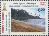 [INDEPEX '97 International Stamp Exhibition, New Delhi - Beaches, Typ BAC]