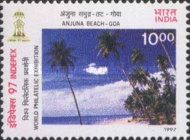 [INDEPEX '97 International Stamp Exhibition, New Delhi - Beaches, Typ BAD]