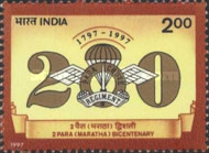 [The 200th Anniversary of the 2nd (Maratha) Battalion, Parachute Regiment, Typ BAK]