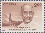 [The 100th Anniversary of the Birth of Father Jerome d'Souza, Academic, Typ BBR]