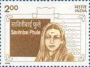 [The 100th Anniversary (1996) of the Death of Savitribai Phule, Typ BCI]