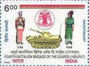 [The 200th Anniversary of the 4th Battalion, Guards' Brigade (1 Rajput), Typ BDI]