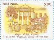 [The 175th Anniversary of Sanskrit College, Calcutta, Typ BEP]